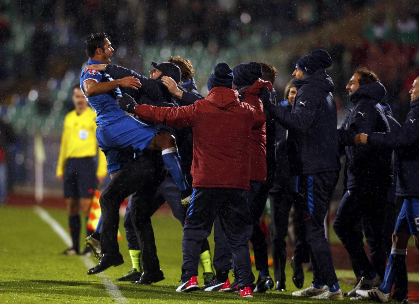 Bulgaria vs Italia 2-2: Eder all'ultimo respiro
