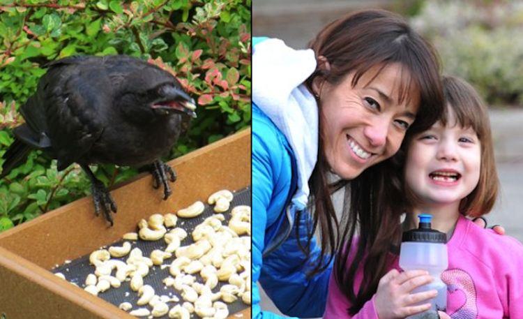 Gabi Mann: gli uccelli che nutre la riempiono di regali
