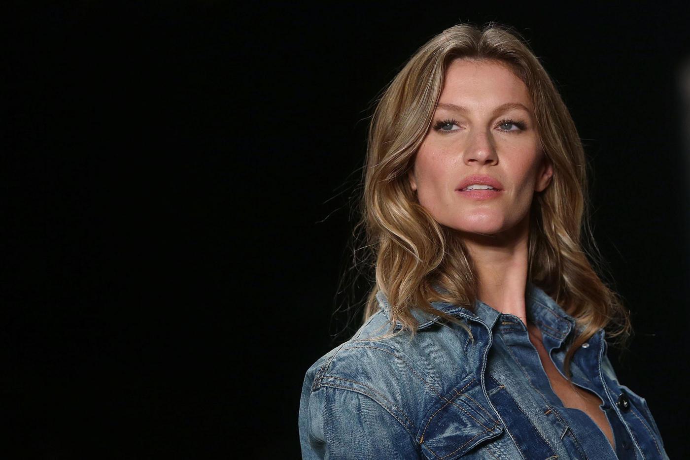 Gisele Bundchen si ritira: da aprile la super modella non farà più sfilate