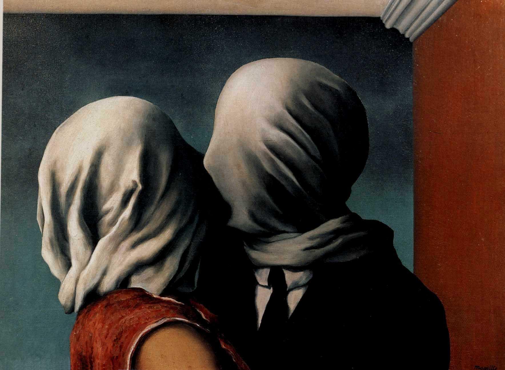 Gli amanti Renè Magritte