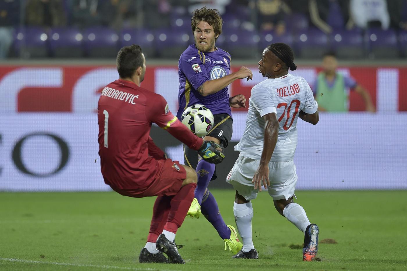 Serie A, Inter vs Fiorentina 0-1: Mancini cede il passo