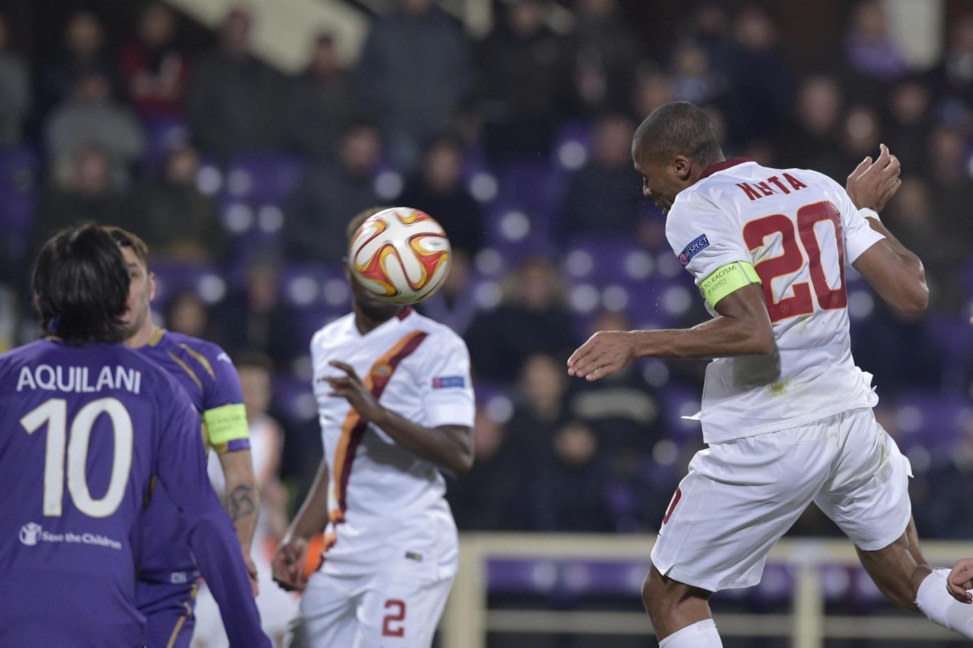 Europa League, Fiorentina vs Roma 1-1 nel derby italiano