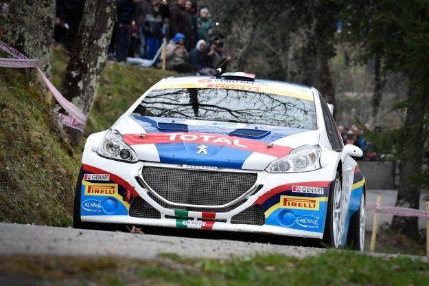 Rally del Ciocco 2015: vince Perico su Peugeot 208 T16 R5