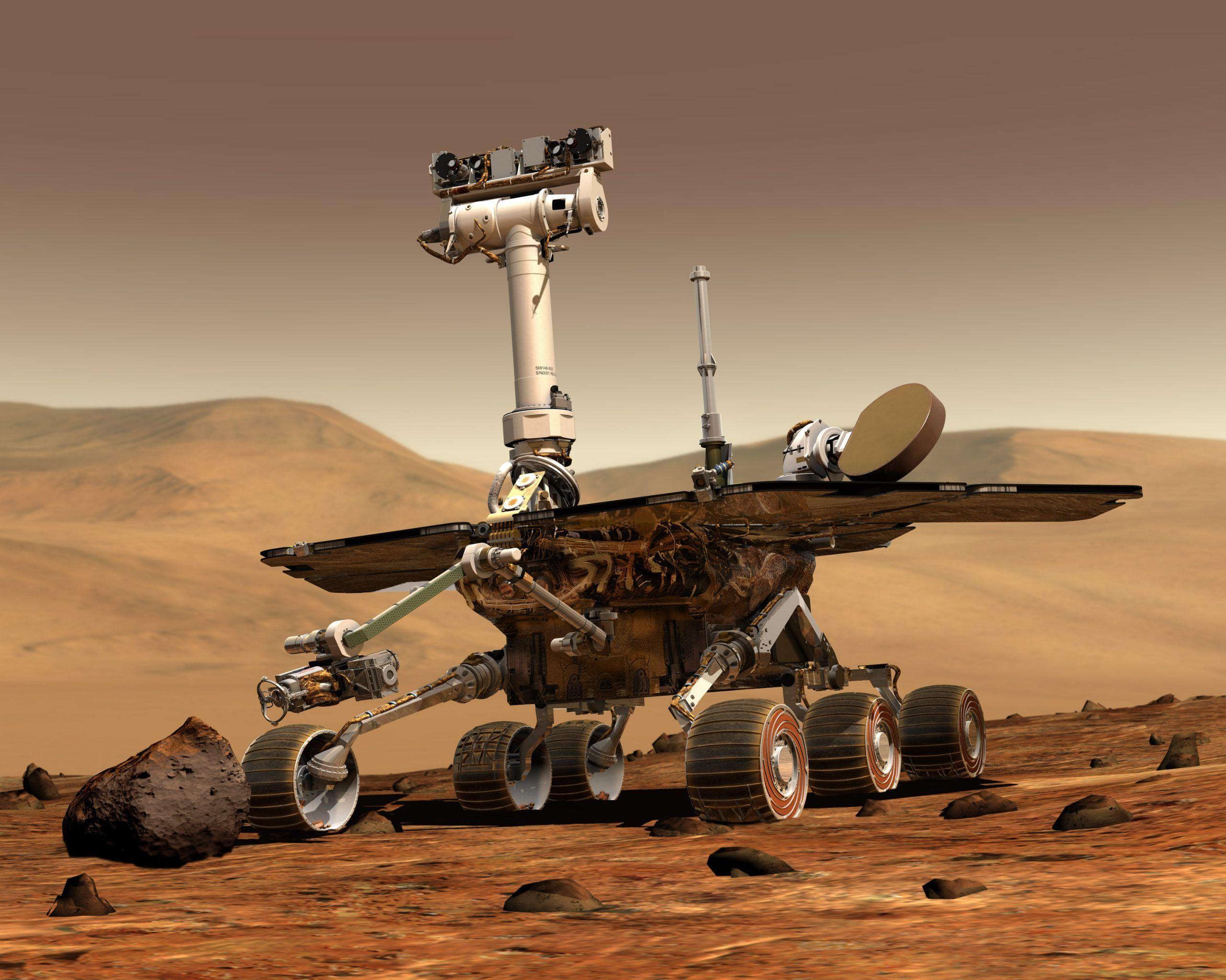 NASA, il rover Opportunity completa la maratona marziana in 11 anni