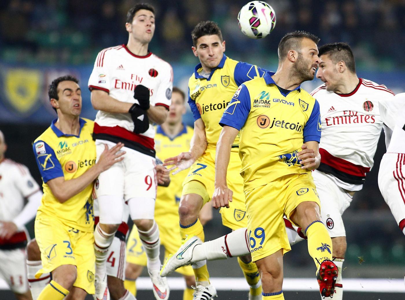 Chievo Verona vs Milan 0-0: rossoneri ancora senza salto di qualità