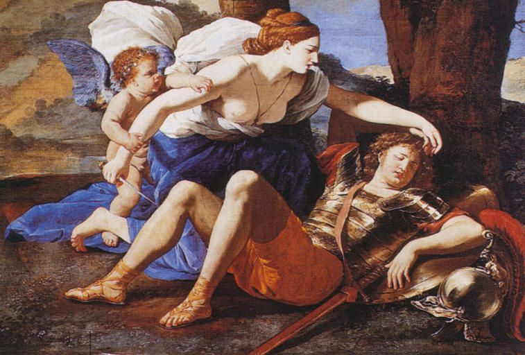 Rinaldo e Armida Poussin