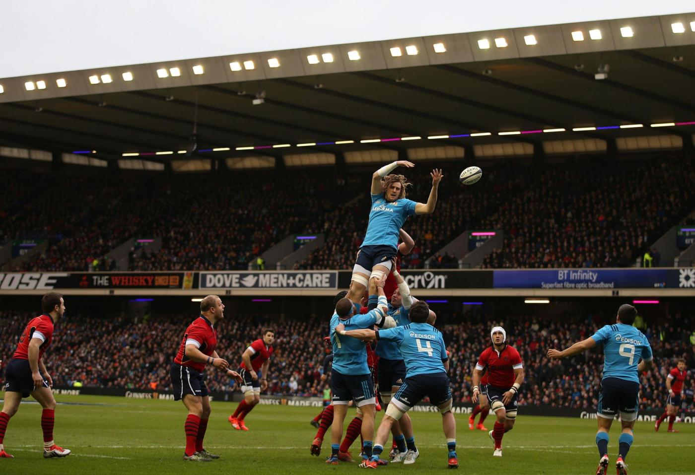 Rugby, Scozia vs Italia 19-22: azzurri conquistano Murrayfield