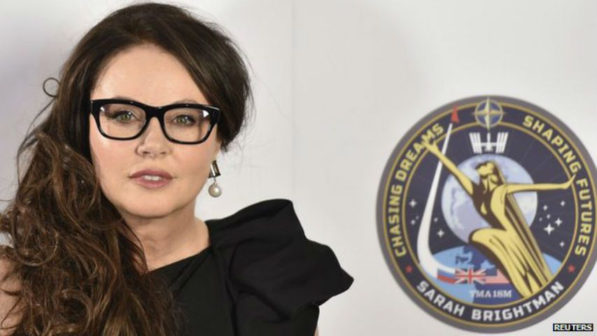 Sarah Brightman prima cantante nello spazio: farà un concerto sulla ISS
