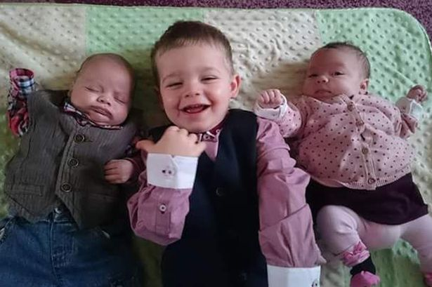 Tre gemelli sono nati a distanza di due anni