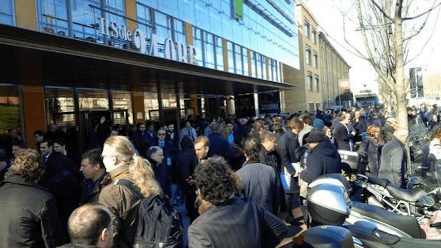 Allarme bomba a Milano: evacuata la sede del Sole 24 Ore