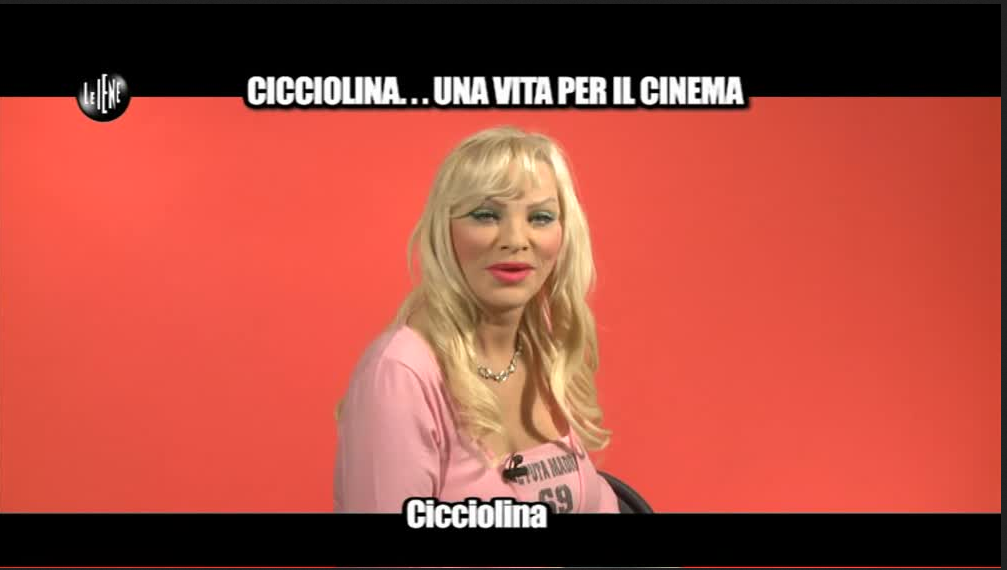 Le Iene: Cicciolina attacca Rocco Siffredi 'Dovresti baciare la terra dove cammino'