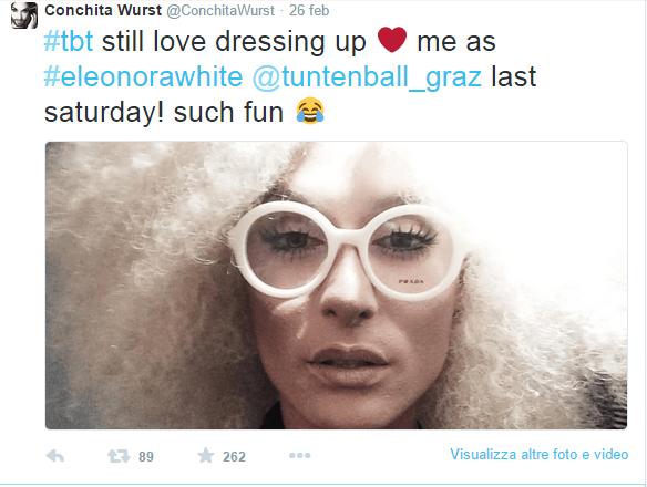 Conchita Wurst senza barba e bionda: cambio di look per la cantante austriaca