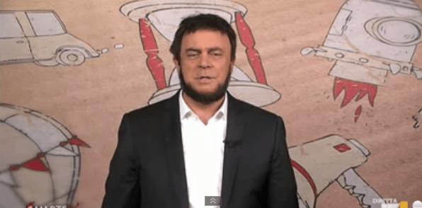 DiMartedì, Crozza-Salvini sindaco di Milano: la copertina del 24 marzo 2015