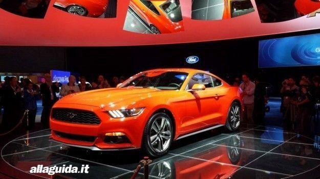 Ford Mustang 2015, anche in Europa: prezzo e caratteristiche tecniche
