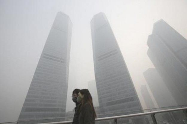 Smog in Cina: diminuiscono i livelli di inquinamento