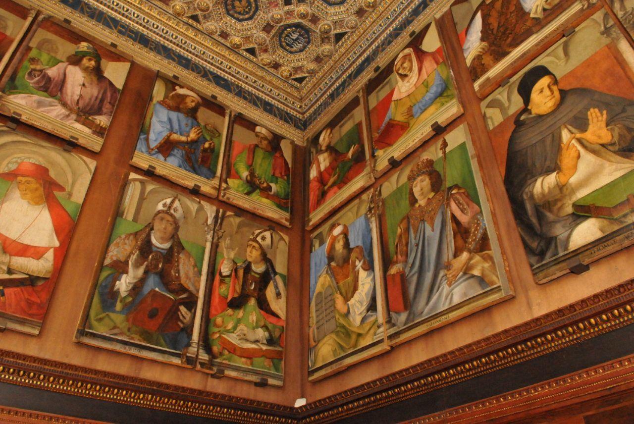 Mostra Urbino: lo studiolo del Duca di Montefeltro 'ricomposto' dopo 400 anni