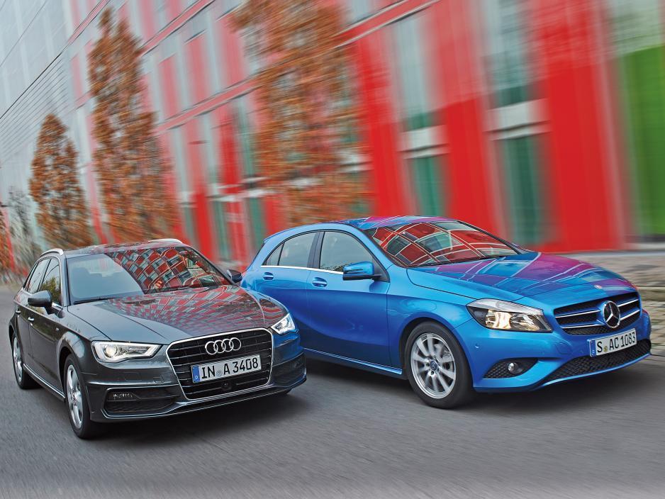Audi A3 vs Mercedes Classe A: confronto tra due berline tedesche