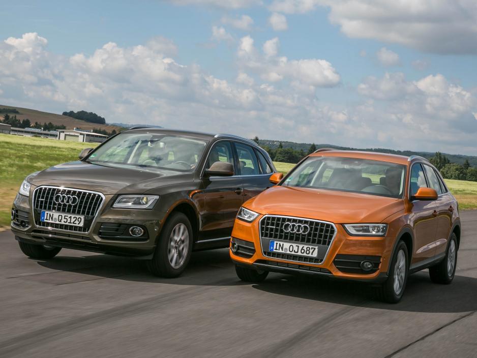 Audi Q3 vs Audi Q5, sfida tra le caratteristiche dei SUV tedeschi