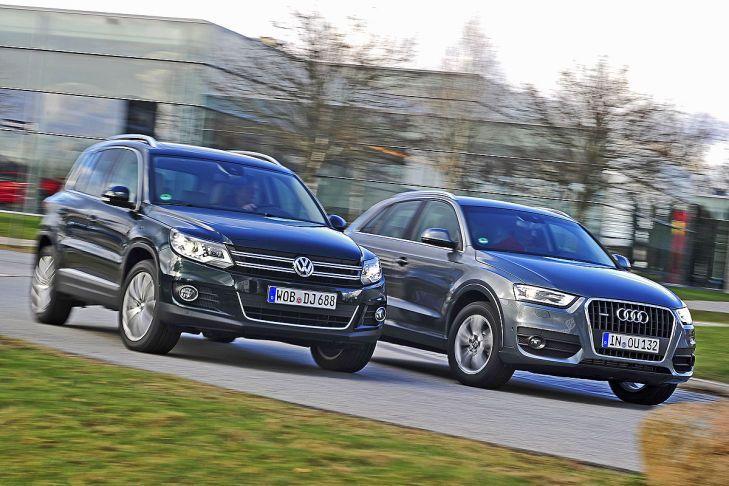 Audi Q3 vs Volkswagen Tiguan