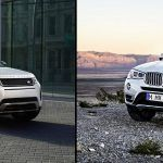 Range Rover Evoque vs Bmw X3, confronto tra SUV premium compatti
