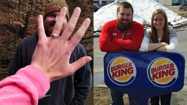 Lui si chiama Burger, lei King: il fast food paga il matrimonio