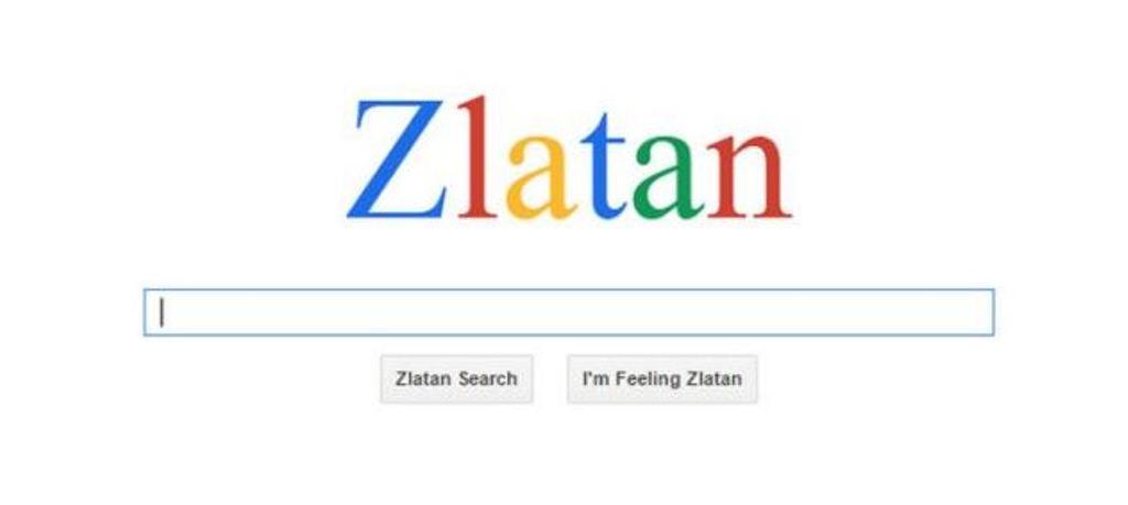 Zlatan Ibrahimovic ha un personale motore di ricerca in internet