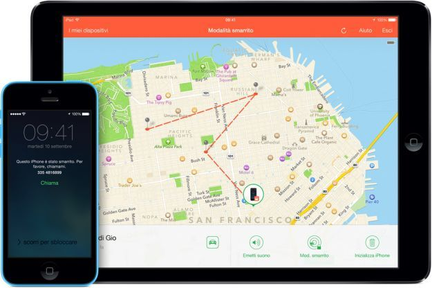 Come rintracciare un telefono iOS Android o Windows Phone