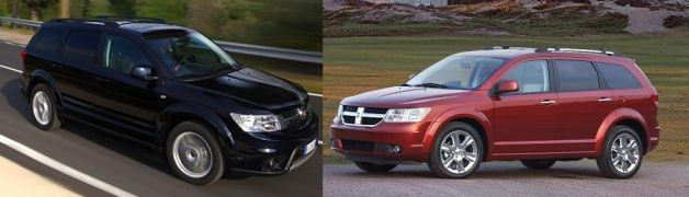 Fiat Freemont vs Dodge Journey