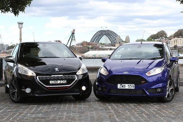 Ford Fiesta vs Peugeot 208: confronto tra utilitarie sportiveggianti