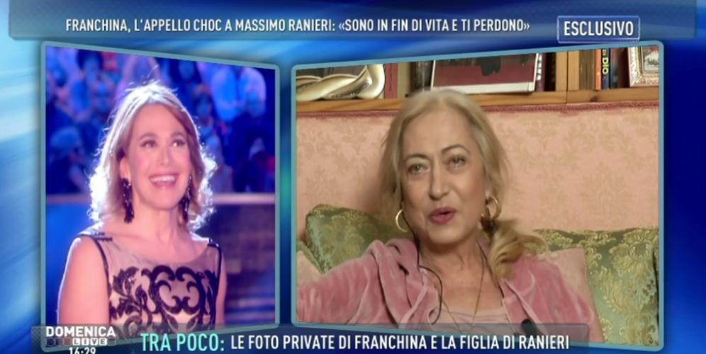 Massimo Ranieri, l'ex compagna è malata: Franchina Sebastiani si racconta a Domenica Live