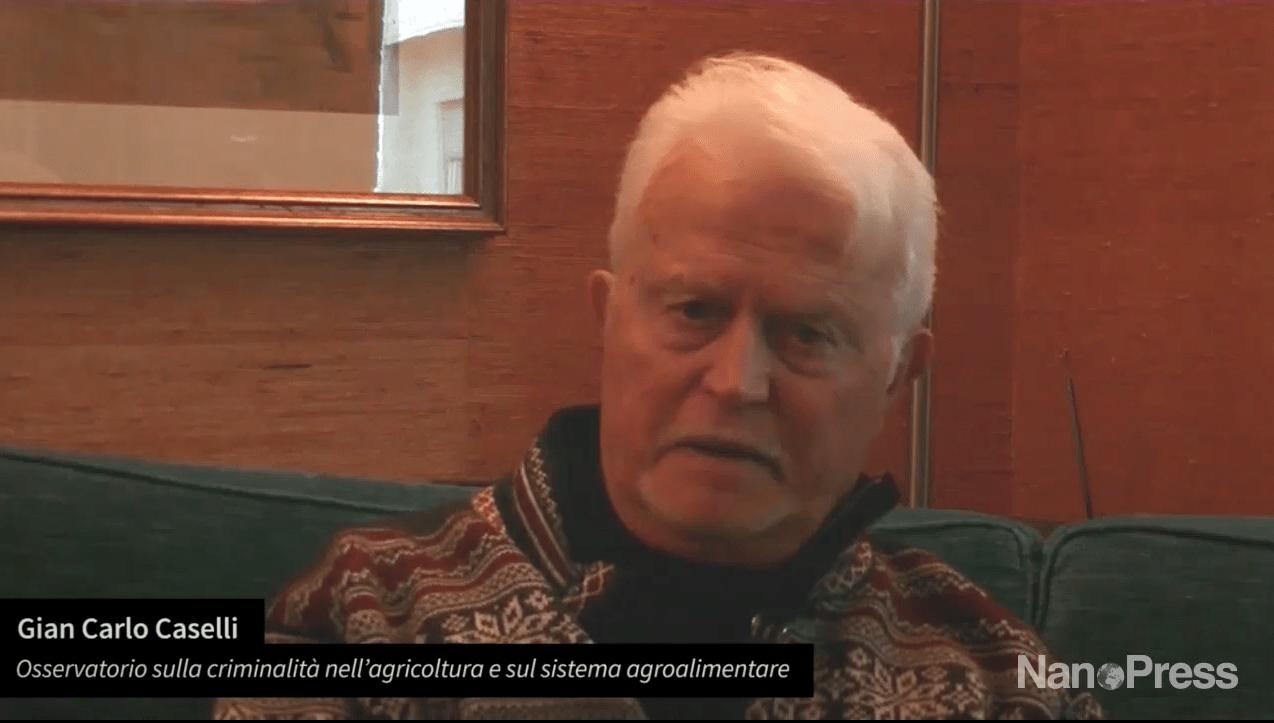 Agromafie, Giancarlo Caselli: «L'agroalimentare attira le mafie perché resiste alle crisi»