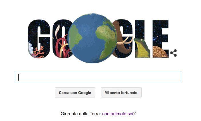 Giornata della Terra celebrato dal Doodle e dal Quiz di Google