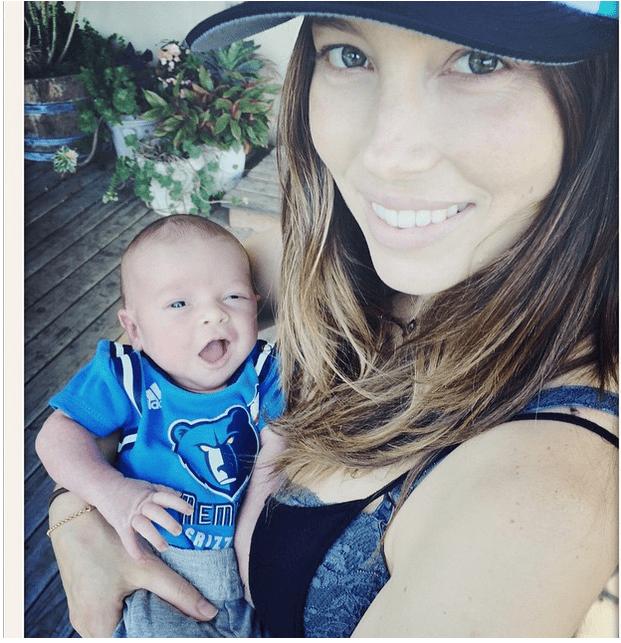 Justin Timberlake papà: la prima foto del figlio Silas Randall con Jessica Biel