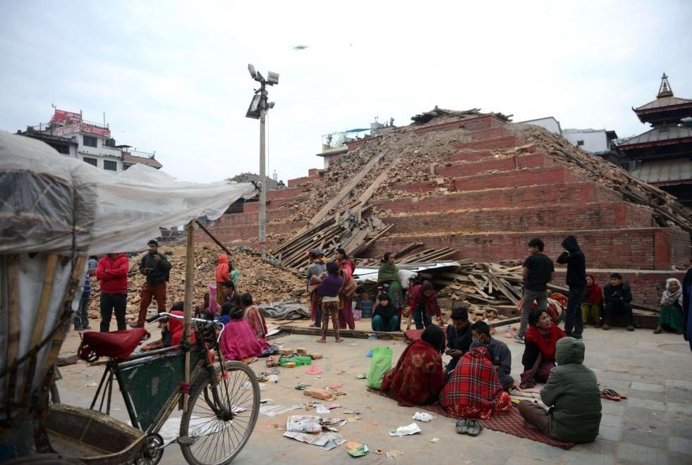 Maju Deval distrutto