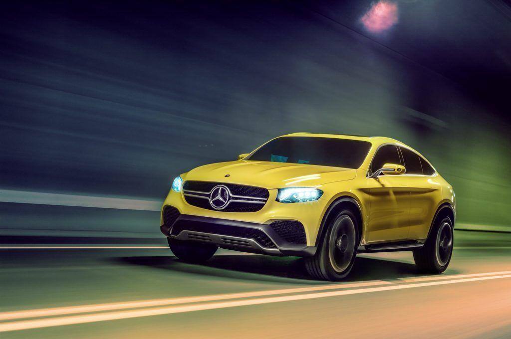Mercedes Concept GLC Coupe concept 1024x680