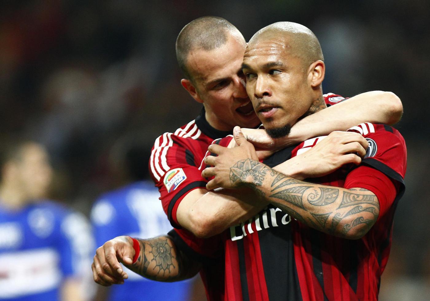 Milan vs Sampdoria 1-1: un pareggio poco utile per entrambe