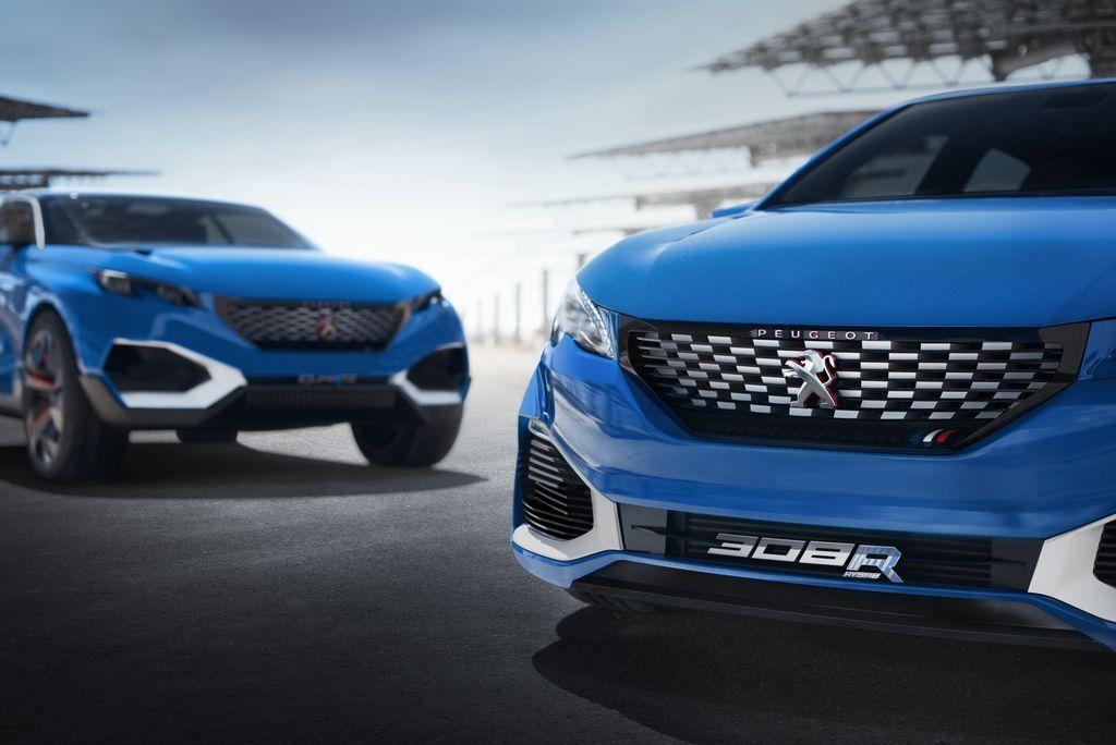 Peugeot 308 R HYbrid concept: dati tecnici e motore