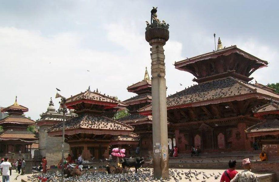Piazza Durbar Kathmandu prima