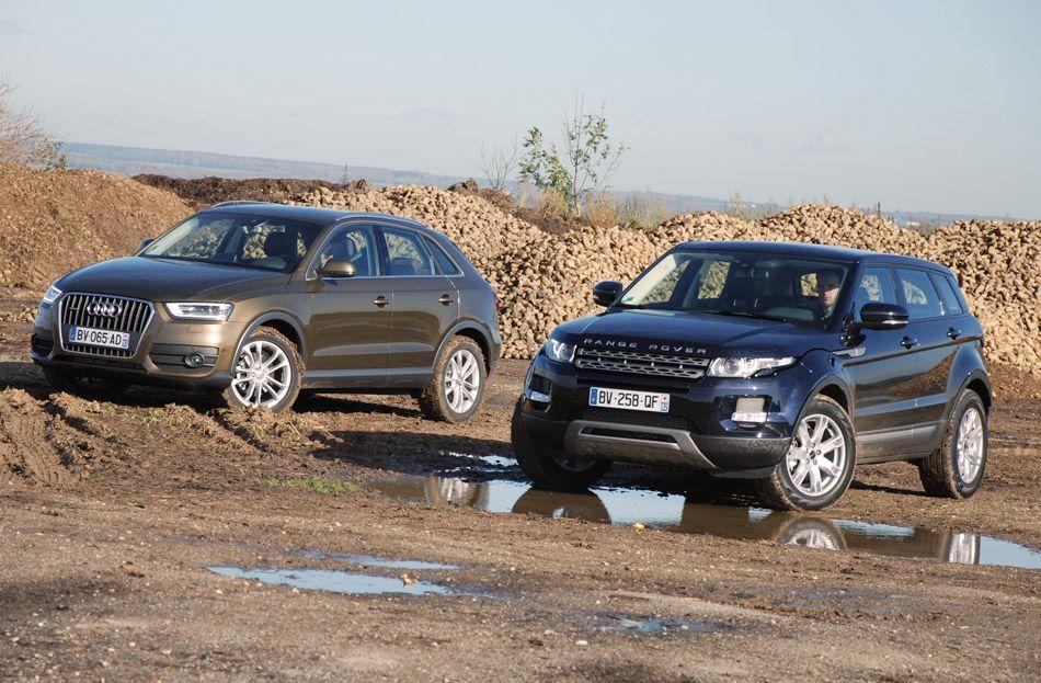 Range Rover Evoque vs Audi Q3