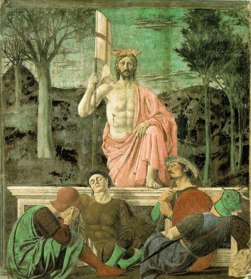 Resurrezione di Cristo Piero della Francesca