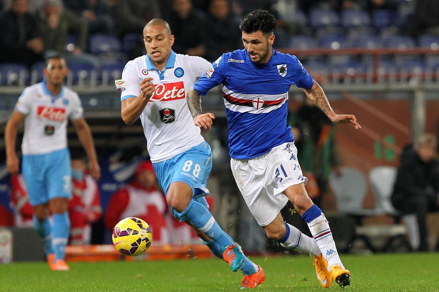 Napoli vs Sampdoria 4-2: azzurri alla caccia della Champions