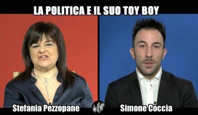 Stefania Pezzopane e il fidanzato Simone Coccia Colaiuta protagonisti di un'intervista doppia delle Iene