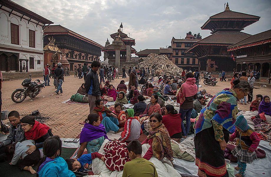 Tempio Vatsala Shikhara Bhaktapur dopo