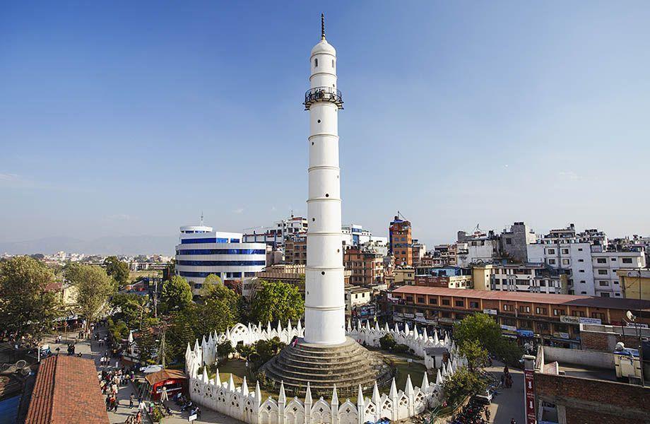 Torre Dharhahara ieri