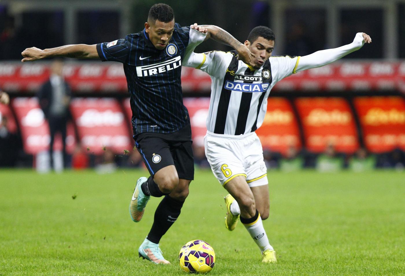 Udinese vs Inter 1-2: occasioni, ammonizioni e espulsioni a grappolo