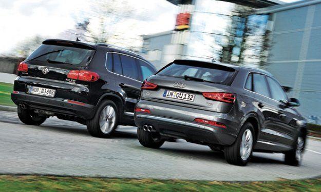 VW Tiguan vs Audi Q3