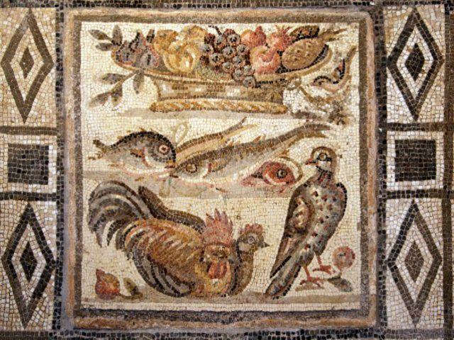 Ananas 'impossibile' in antico mosaico: i Romani viaggiarono per le Americhe?