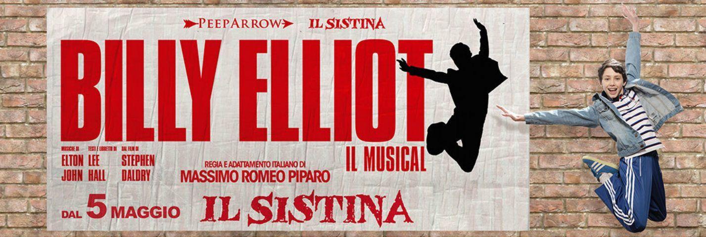 Billy Elliot, il musical in Italia al Sistina dal 5 maggio 2015