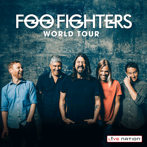 Foo Fighters tour 2015