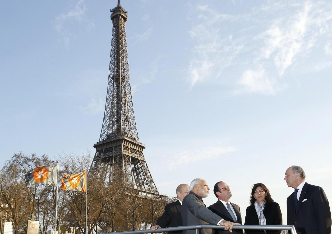 Hollande e Modi a Parigi
